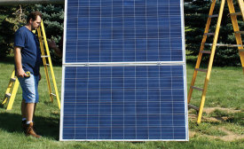 By installing a solar array, homeowners can essentially pre-purchase their future electrical needs at today's cost. PHOTO Courtesy of Michigan Energy Services