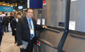 Bo Erickson, vice president of sales and commercial distribution, Manitowoc Ice