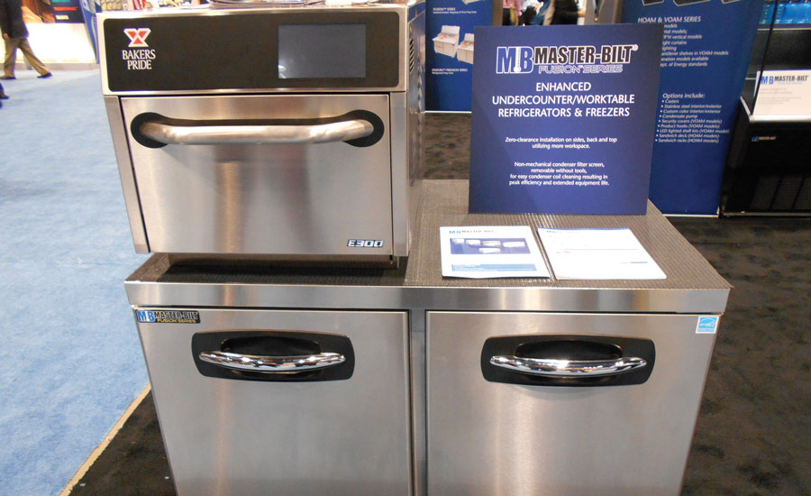 Master-Bilt's MBU-A Series of undercounter worktable refrigerators and freezers
