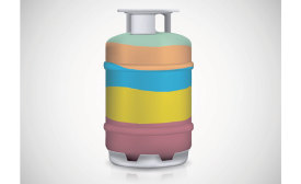 Say goodbye to the rainbow of refrigerant canister colors