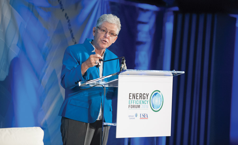 Gina McCarthy, administrator of the U.S. Environmental Protection Agency