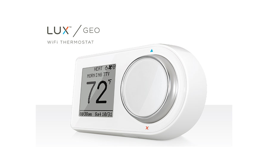SILVER WINNER LUX Products Lux/GEO Wi-Fi Thermostat www.luxgeo.com