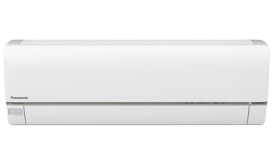 Panasonic's Exterios XE Low Ambient series all-in-one ductless heat pump and air conditioner includes built-in ECONAVI® sensors