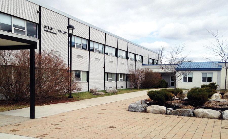 Otter Valley Union High School in Brandon, Vermont, is undertaking major building improvement projects paid for with energy cost savings through a partnership with Johnson Controls Inc.