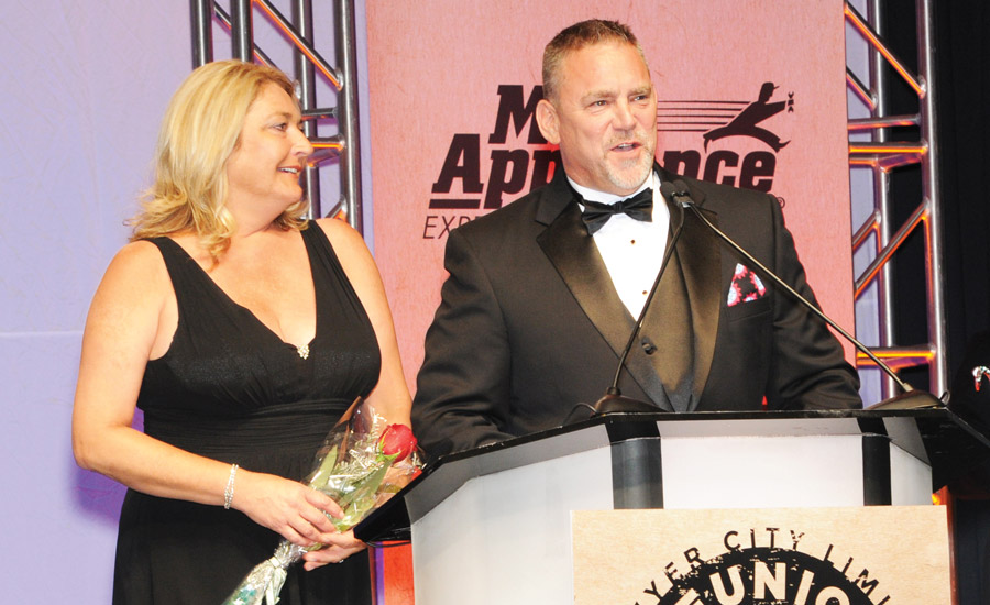 Husband-and-wife team Ray and Tina Bramble, owners of Aire Serv of Bull Run, Virginia, were named Aire Serv's Franchisee of the Year.
