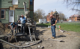 Residential geothermal applications in urban areas are becoming more popular, due in part to advances in loop-field design.