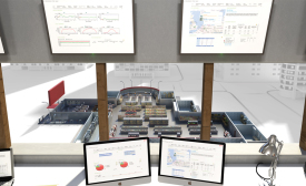 A view of the monitoring station of Danfoss's Smart Store solution.
