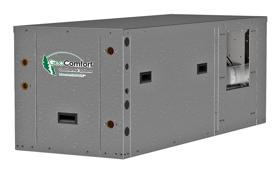 GeoComfort: Element Series GZT 024-072, compact, horizontal, packaged, ground-source heat pump