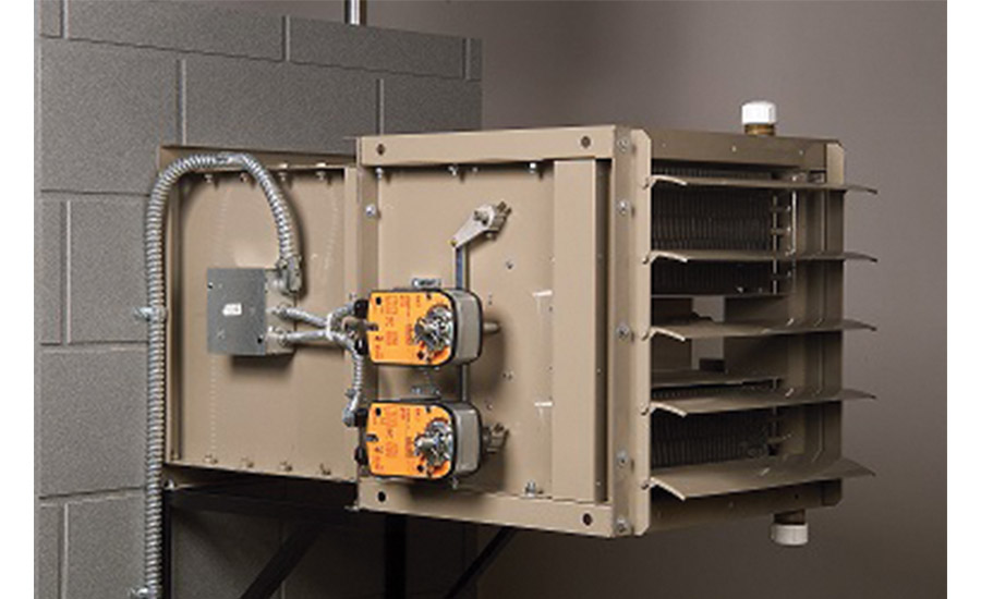 LJ Wing: HS-FAS hydronic make-up air unit