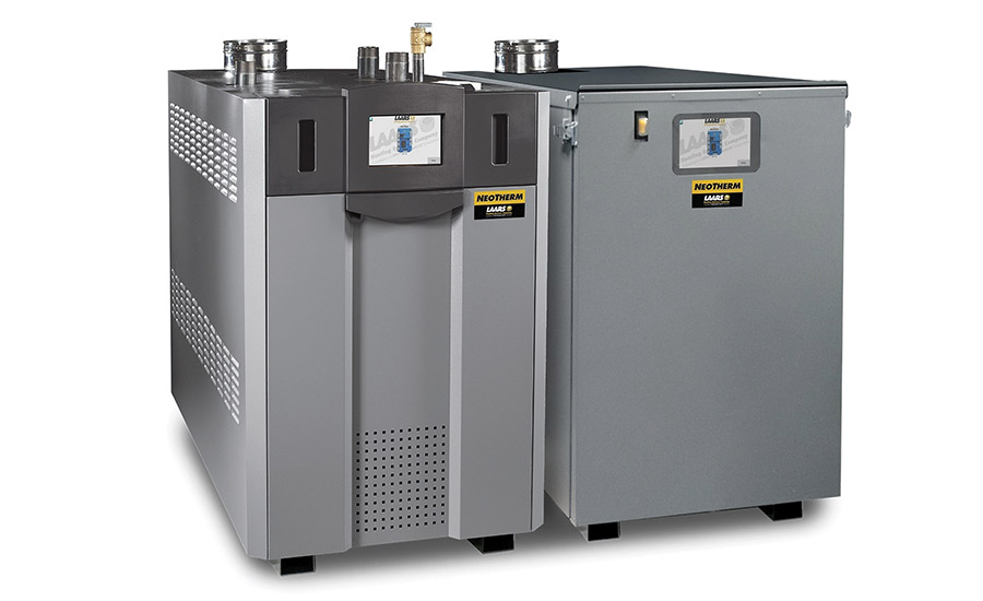new hvac systems help keep the commercial market warm 2016 10 03 laars heating systems neotherm outdoor boiler