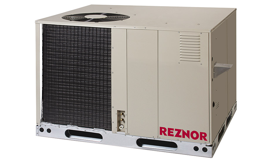 Reznor: R6GI weatherized gas/electric packaged unit with iQ drive technology