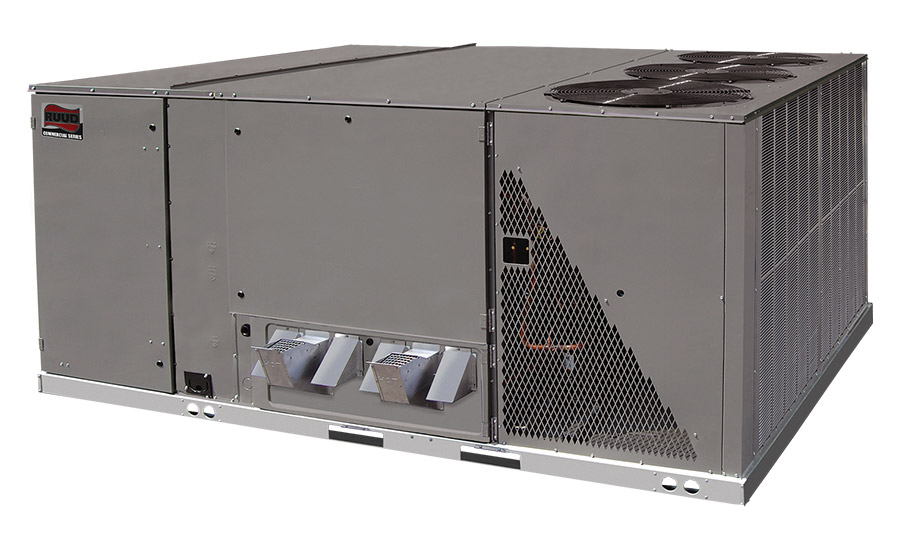 Ruud: H2AC™ rooftop unit featuring eSync™ integration
