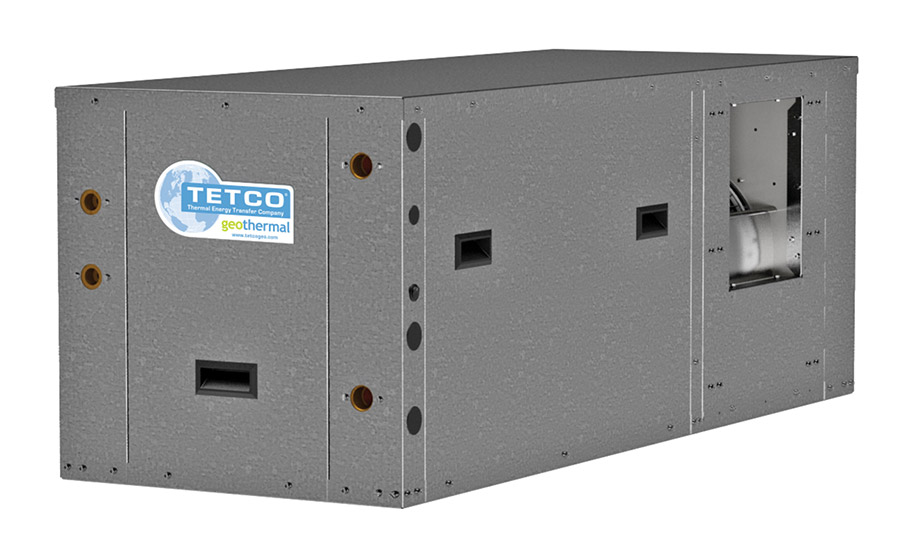 Tetco: ION Series, TZT 024 072, compact, horizontal, packaged, ground-source heat pump