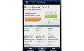 Carrier's Commercial Rooftop mobile app