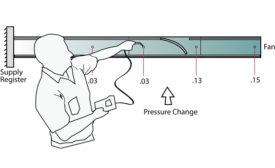 measuring duct pressure