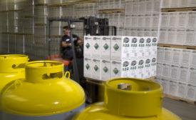 Airgas Refrigerants forklift