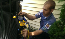 new air conditioning unit pressure