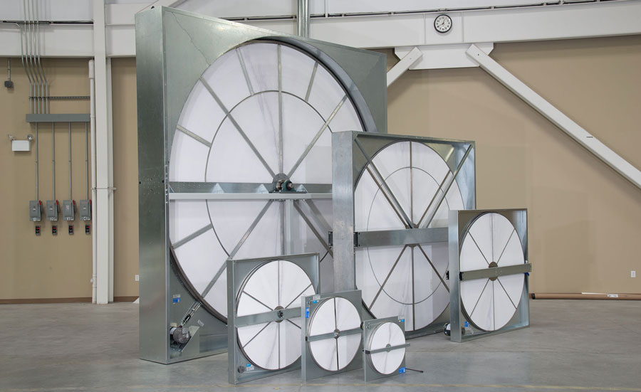 energy recovery wheels