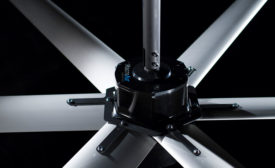 horizontal ceiling fans