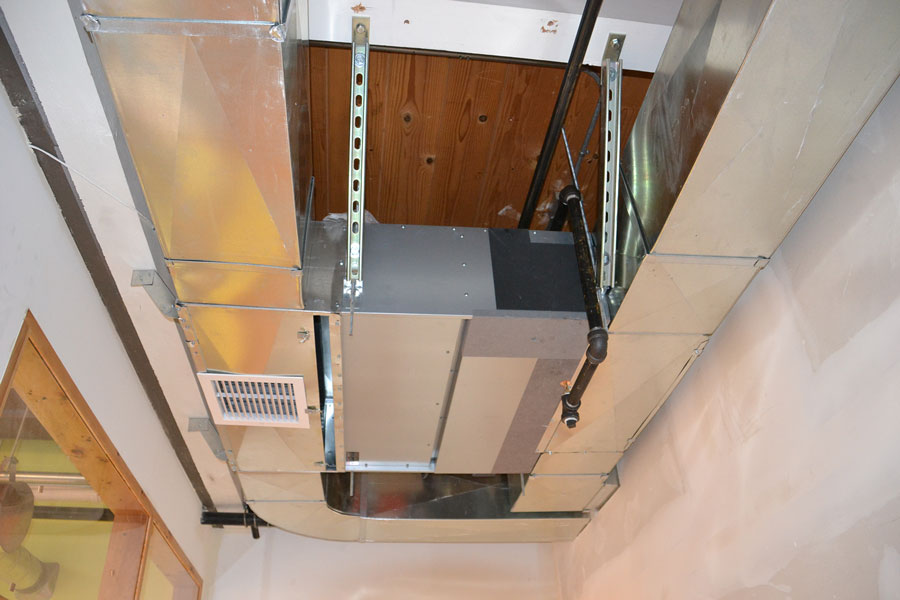 Duct Split Unit : Ducted mini splits offer hidden benefits