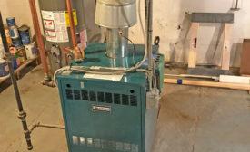 Burnham Series 2 cast-iron boiler