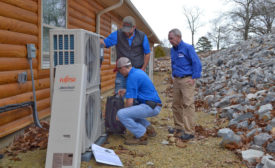 outdoor unit setting adjustments