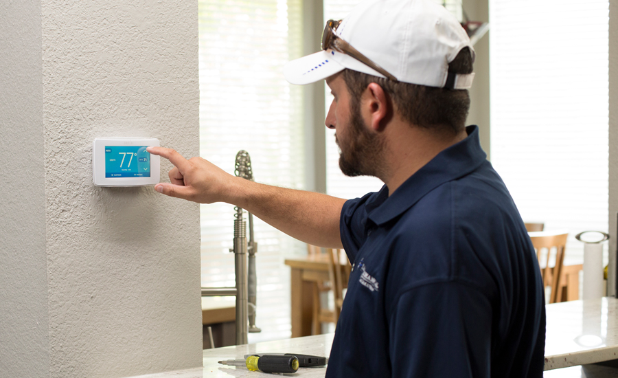 Smart thermostats boast greener benefits with energy and for Emerson sensi