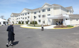 apartment building at Peconic Landing