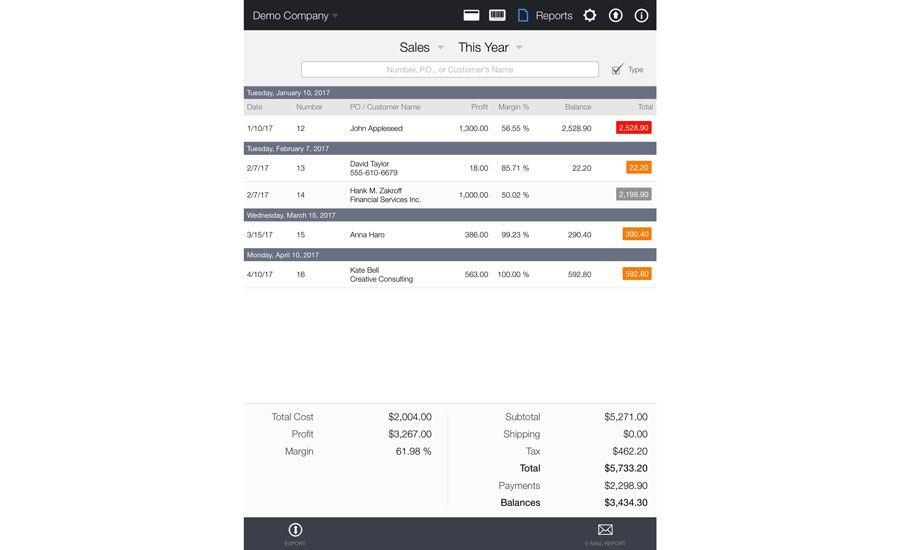HVAC Contracting Theres An App For That ACHRNEWS - Invoice quick app