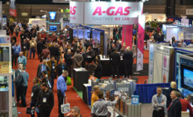 A-Gas booth
