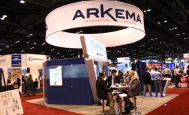 Arkema booth