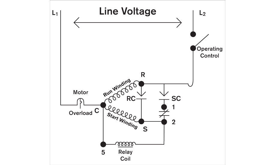 Hvac Potential Relay Wiring Diagram Wire Management Wiring Diagram