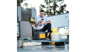 MR45 digital refrigerant recovery machine