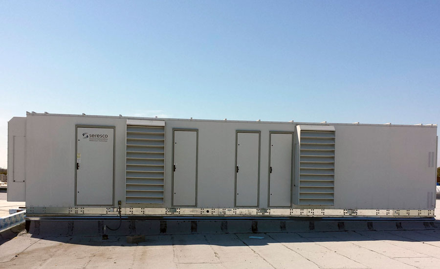 NW-Series rooftop dehumidifier
