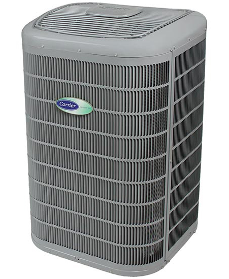 Carrier's Infinity® 20 Air Conditioner with Greenspeed® Intelligence - ACHR