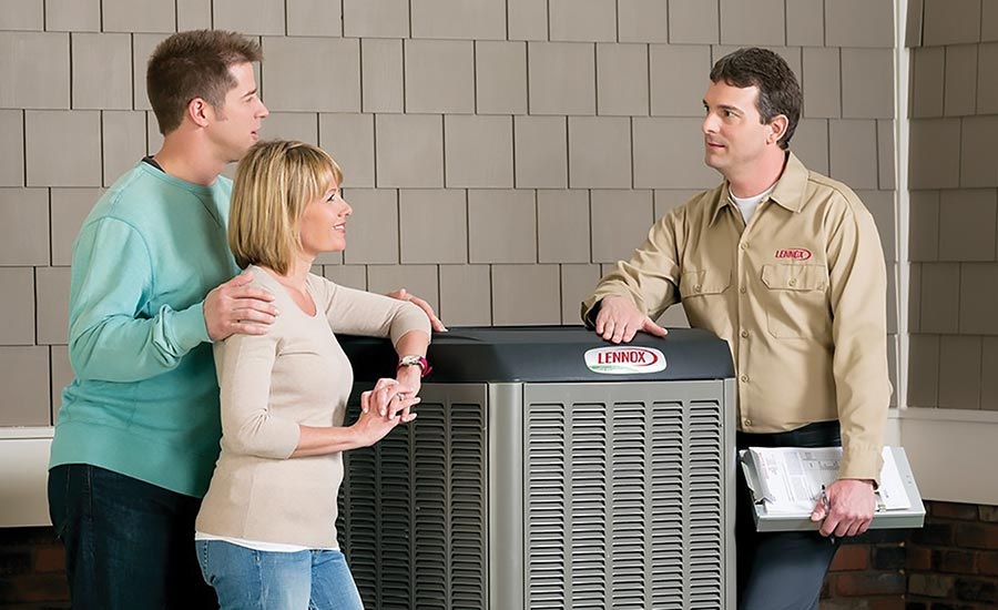 Lennox XC25 High-Efficiency 26-SEER system