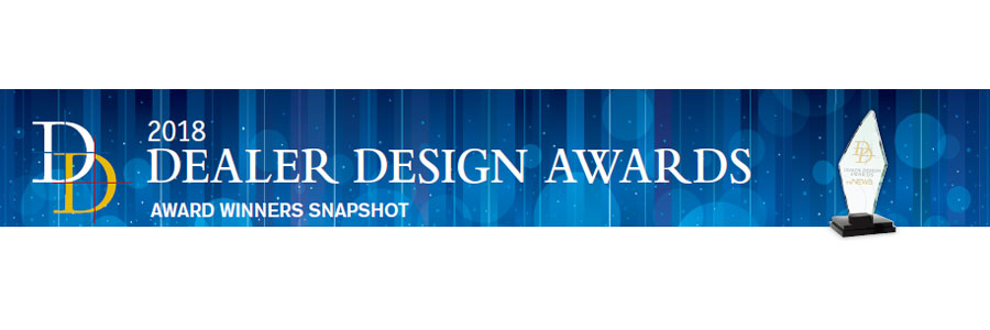 2018 Dealer Design Award Winners