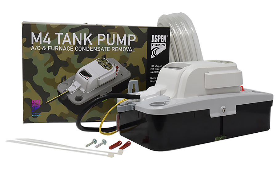 Aspen Pumps M4 A/C & Furnace Tank Pump. - The NEWS - ACHR