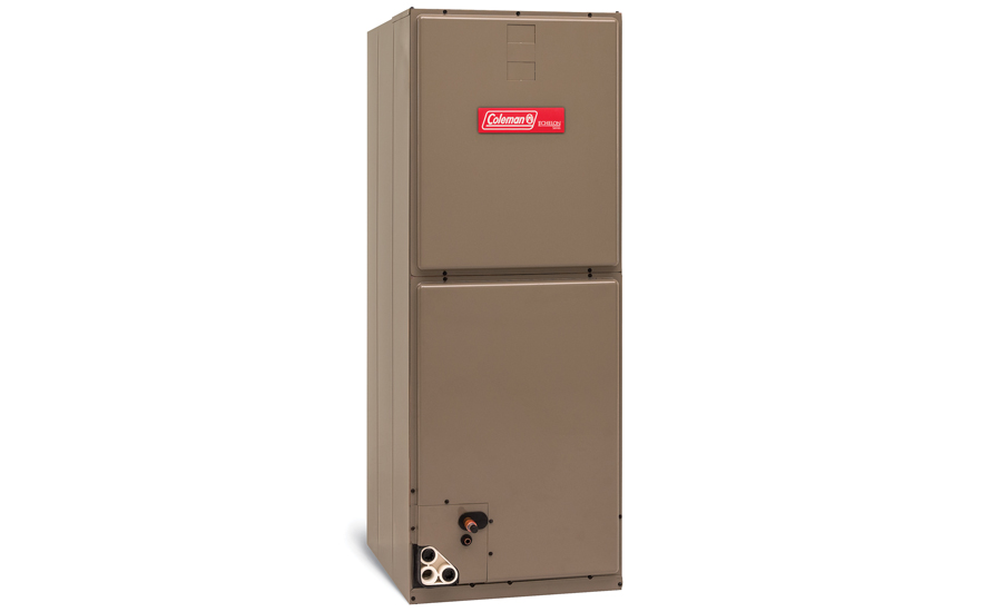 The Coleman Echelon variable-capacity communicating air handler from Johnson Controls. - The NEWS - ACHR