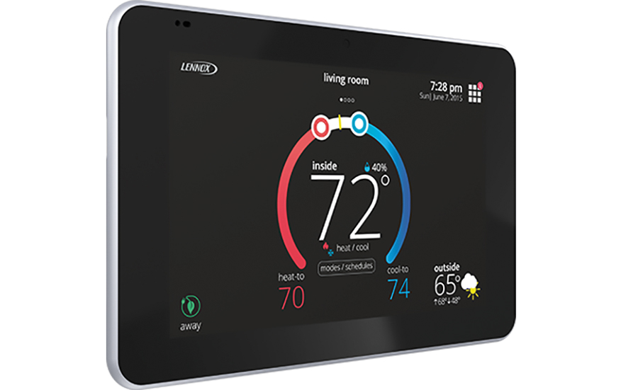 Lennox Intl. Inc. iComfort E30 Universal Smart Thermostat. - The NEWS - ACHR