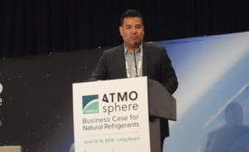 California state Sen. Ricardo Lara noted that one of the key barriers to the adoption of low-GWP equipment is its high first cost, which the incentive program is trying to mitigate. - The NEWS - ACHR