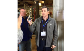 Bobby Grimes (left), president and co-owner, A&G Piping Inc. - The NEWS - ACHR