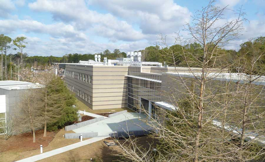 The 69,000-square-foot MARBIONC Building, a research lab at the University of North Carolina Wilmington, employs Smardt chillers with Danfoss Turbocor compressors. - The ACHR News