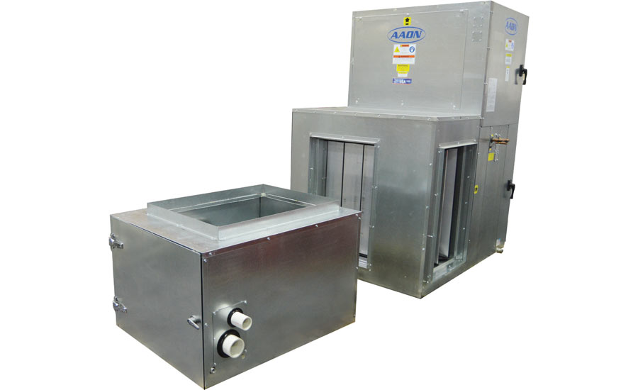 AAON V3 Series air handling unit, furnace. - The ACHR News