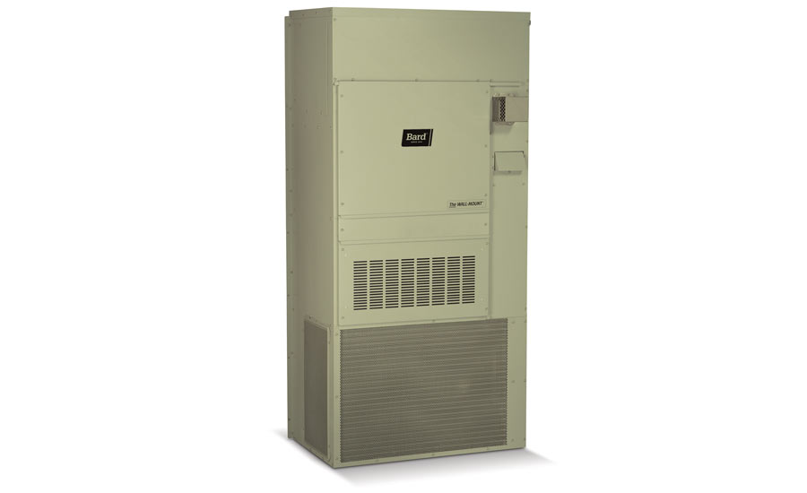Bard WGS Series, step-capacity, gas/electric, wall-mount air conditioner/furnace - The ACHR News