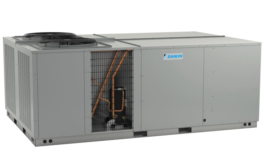 Daikin Commercial Unitary DCG 15- to 25-ton rooftops with factory-installed hinged access panels (optional) - The ACHR News
