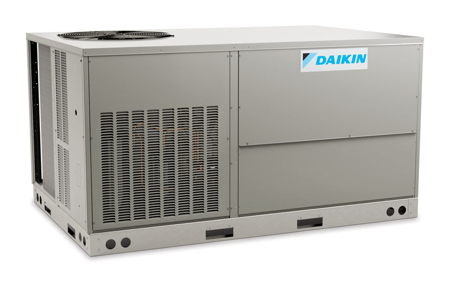 Daikin Commercial Unitary DTH/DTG 3- to 5-ton high-efficiency rooftops with factory-installed hinged access panels (optional) - The ACHR News