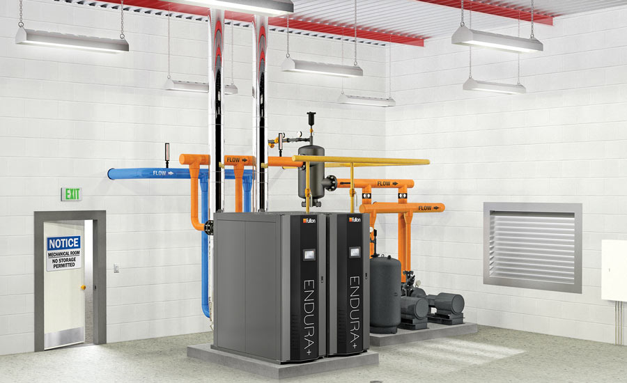 Fulton Heating Solutions Endura EDR+6000 fire-tube condensing boiler - The ACHR News