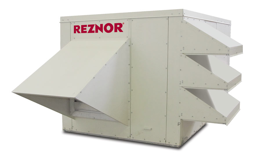 Reznor Demand ventilator with enthalpy wheel, ZQYRA - The ACHR News