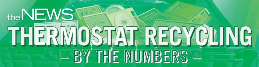 Thermostat Recycling By The Numbers